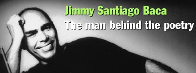 an interview with jimmy santiago baca on poetry Immigrants in our own land by jimmy santiago baca, from immigrants in our own land poems by jimmy santiago baca immigrants in our own land by jimmy.